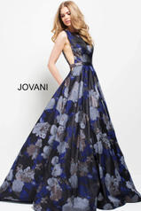 49898 Navy Print front