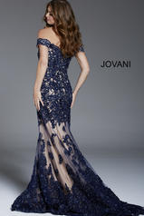 55907 Navy/Nude back