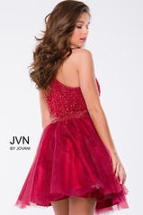 JVN41345 Burgundy back