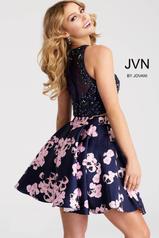 JVN47306 Navy/Print back