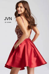 JVN53168 Burgundy back