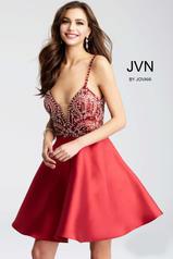 JVN53168 Burgundy front