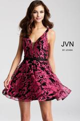 JVN53382 Black/Fuchsia front