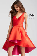 JVN55402 Red/Fuchsia front
