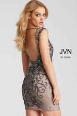 JVN58634 Charcoal/Nude back