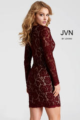 JVN42635 Red(Wine)/Nude back