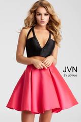 JVN57208 Black/Fuchsia front