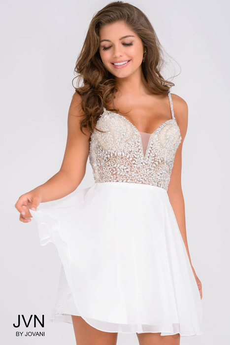 JVN by Jovani Homecoming Short Dress