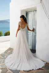 8957A Natural/Light Almond/Silver/Nude back