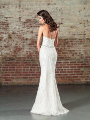 9862D Ivory/Silver back