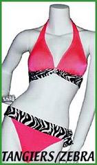 Tangiers/Zebra Lady M Swimwear