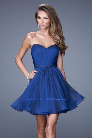 La Femme Short Dresses