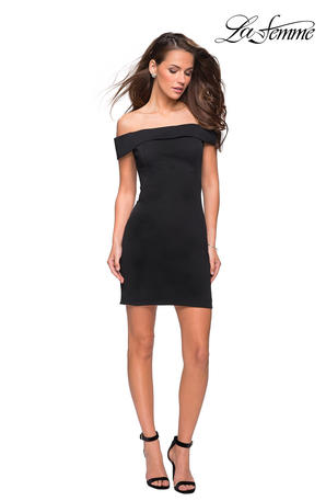 La Femme Short Dress
