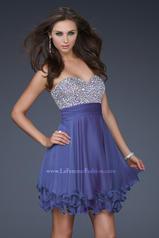 16541 La Femme Short Dresses