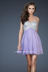 17902 La Femme Short Dresses