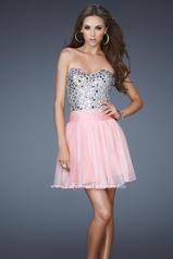 17953 La Femme Short Dresses