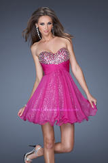 19250 La Femme Short Dresses