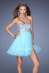 19373 La Femme Short Dresses