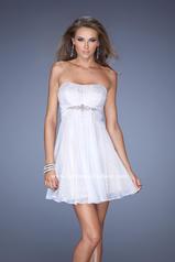 19415 La Femme Short Dresses