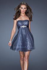 19421 La Femme Short Dresses