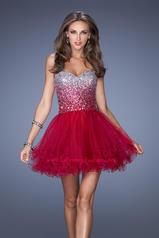 19451 La Femme Short Dresses