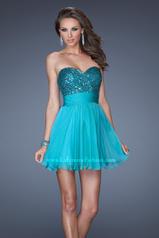 19453 La Femme Short Dresses