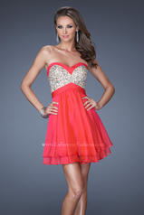 19458 La Femme Short Dresses