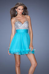 19469 La Femme Short Dresses