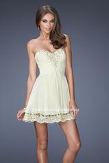 19687 La Femme Short Dresses