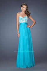 Long Lace and Chiffon