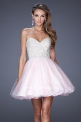20033 La Femme Short Dresses