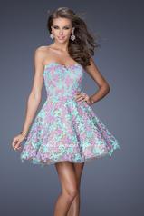 20063 La Femme Short Dresses