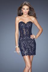 20204 La Femme Short Dresses