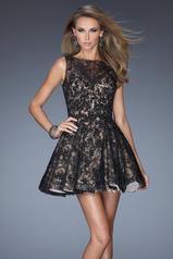 20244 La Femme Short Dresses