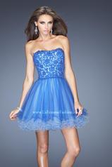 20386 La Femme Short Dresses