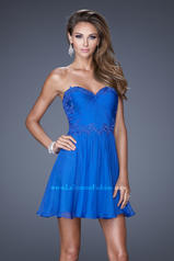 20573 La Femme Short Dresses