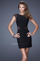 20577 La Femme Short Dresses