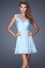 20581 La Femme Short Dresses