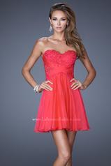 20632 La Femme Short Dresses