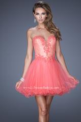 20656 La Femme Short Dresses