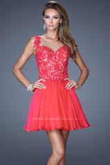 20672 La Femme Short Dresses