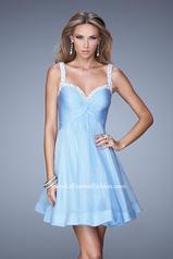 20677 La Femme Short Dresses