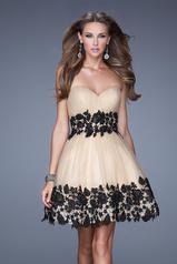 20790 La Femme Short Dresses