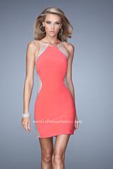 21117 La Femme Short Dresses