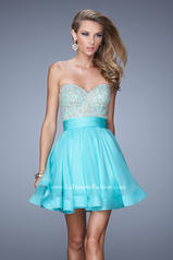 21202 La Femme Short Dresses