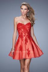 21213 La Femme Short Dresses