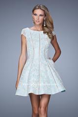 21249 La Femme Short Dresses