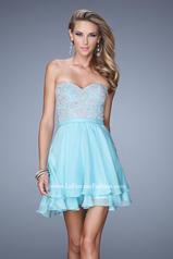 21284 La Femme Short Dresses