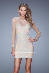 21300 La Femme Short Dresses