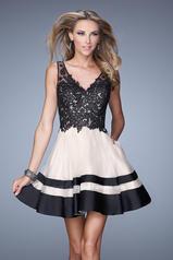 21305 La Femme Short Dresses